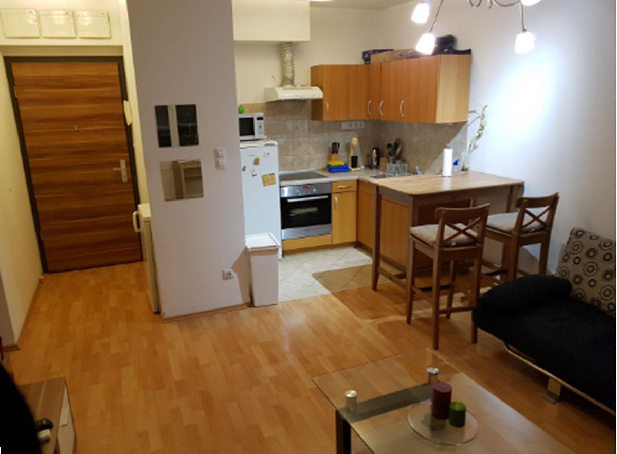 מראה של דירה חדשה בבודפשט