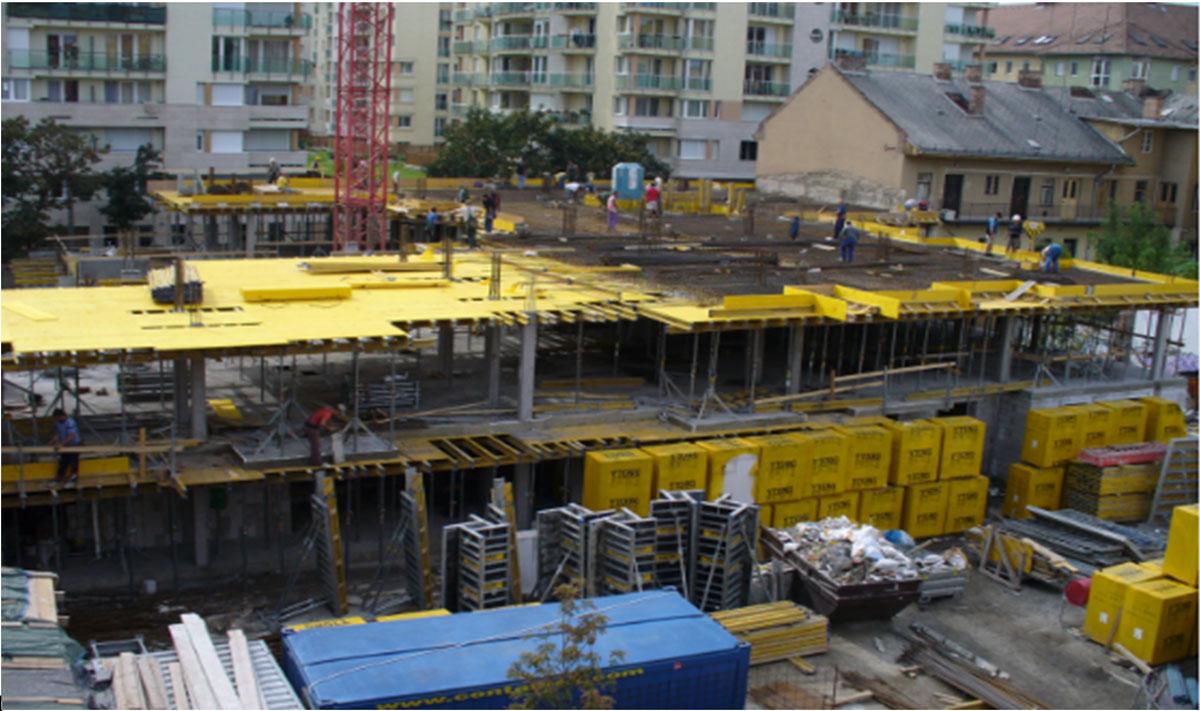 פרויקט בנייה למגורים בבודפשט